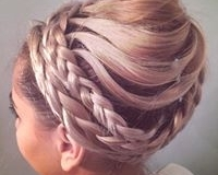 hair styles and up-do 1.29.2020